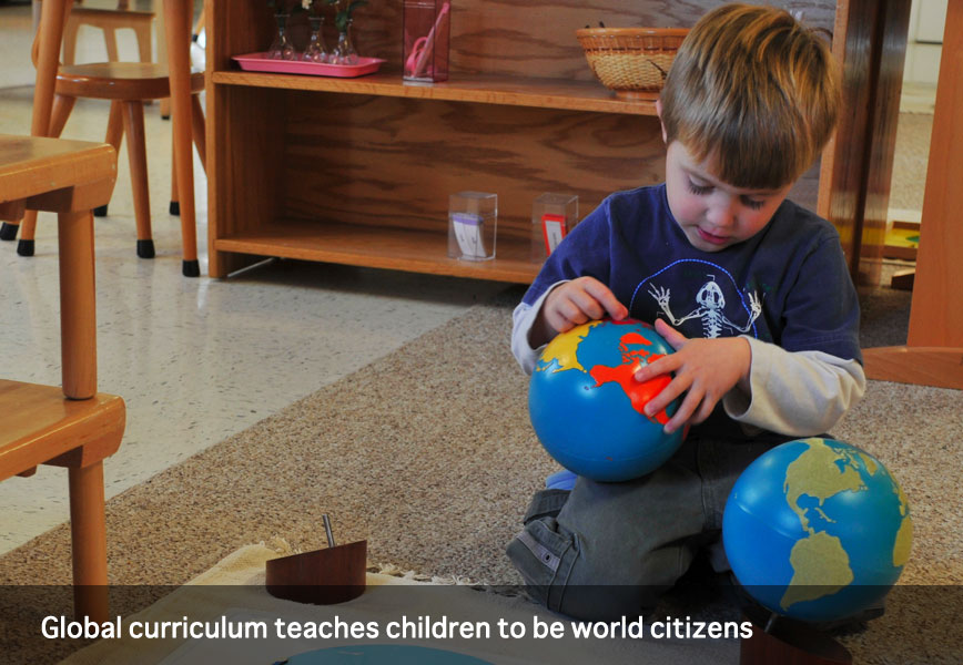 Global curriculum teaches children to be world citizens at Montessori School of Syracuse